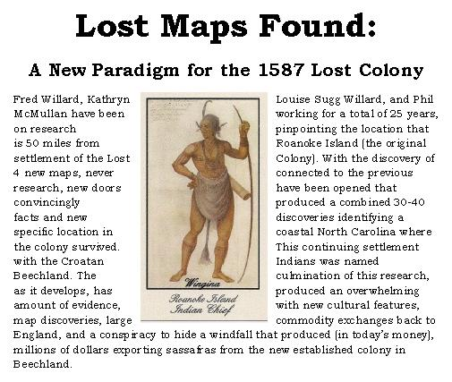 Lost maps found